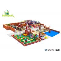 Huge Children Indoor Playground Family Fun Play Area / Kids Play Equipment Manufactures