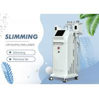 Touch Screen 5 In 1 Slimming Machine / Cryo Lipo Fat Freeze Cavitation RF Vacuum Slimming Equipment Manufactures