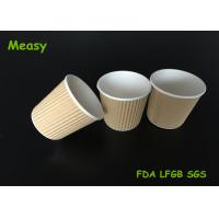 4Oz Disposable Kraft eco friendly disposable cups For Starbuck Cofe Shop Manufactures