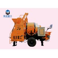 China Small Self Loading Diesel Concrete Mixer With Pump , Cement Mixer With Pump on sale