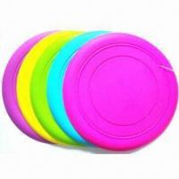 Silicone Soft Frisbee with Dog Flying Discs, Suitable for Promotion Gifts Manufactures