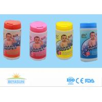 Wet Tissue Antibacterial Hand Sanitizer Wipes Newborn Baby Wipes With Pop Top Container Manufactures