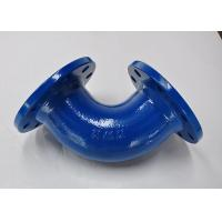 PN16 90 Degree Cast Iron Pipe Fittings , Cast Iron Soil Pipe Fittings Manufactures
