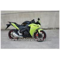 China Honda CBR motorbike Air-cooled Green Drag Racing Motorcycles With Two Wheel on sale