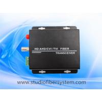 Buy cheap 1CH HDCVI to fiber optical converter for 720p/1080p CVI over1SM/MM fiber transceive to 0~20KM  applied in CCTV system from wholesalers