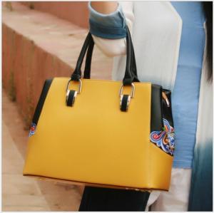 Handmade bags women embroidered shoulder bags high grade PU ladies bag large capacity OEM/ODM Manufactures