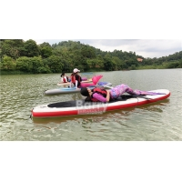 China Drop Shipping Self Inflatable Stand Up Paddle Board Set For Surfing on sale