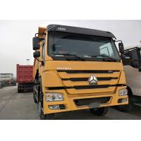 10 Tyres Heavy Dump Truck With ZF Steering Direction , 371HP Horse Power Manufactures