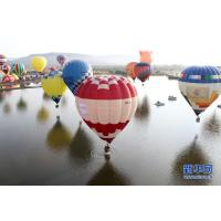 Colorful Polymorphic Inflatable Hot Air Balloon For To Go Sightseeing / Wedding Trip / Advertising for sale