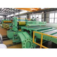 Heavy Load Stainless Steel Slitting Machine High Linear Speed Long Durability Easy Operation Manufactures