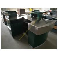 Stainless Steel Supermarket Checkout Counter Manufactures