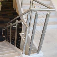 China Cheap Balcony Stainless Steel Railing Design with Cable Fittings on sale