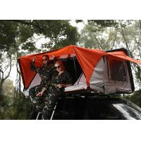 280G Polyester Cotton Canvas Car Roof Pop Up Tent , Light Auto Roof Top Tent Manufactures