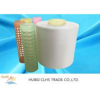 China Plastic Cone Spun Polyester Yarn 40 / 2 50 / 2 60/2 Eco - Friendly  For T Shirt on sale