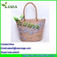 China Shoulder Bags for Women Ladies Bag Wholesale Purses Corn Husk Straw Bags on sale