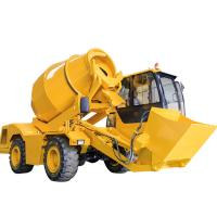 Concrete Mixer Truck Dimensions 4 Cubic Meter Self Loading Concrete Mixer Truck for sale