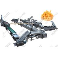 Frozen French Fries Production Line|Automatic Frozen French Fries Production Line Manufactures