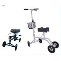 Outdoor use portable handicapped knee walkers