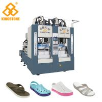 8 Stations Shoe Sole Making Machine Production Line For EVA Slipper / Sandals / Boots Manufactures