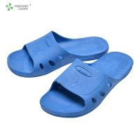 hot sales professional production of blue SPU anti-static slipper  manufacturer Manufactures