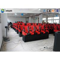 Animation 5D Digital Theater System Simulator With Stimulating Electric Motion Seats Manufactures