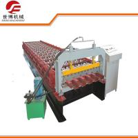 Steel Wall Sheet IBR Trapezoidal Sheet Roll Forming Machine PPGI / GI Materials Manufactures