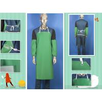 PVC Coated Polyester Protective Clothing Aprons For Chemical Resistant Manufactures