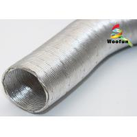Quality Heat Insulated Auto Air Duct Hose , 2 Inch Aluminum Foil Car AC Hose for sale