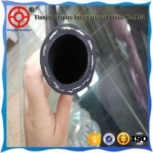 Best seller of 2017 3/5  inch low pressure abrasion resistant black oil station rubber hose Manufactures