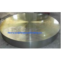 Tube Sheet Double Stainless Steel Forged Disc 1.4462, F51, S31803; F60, S32205; F53, S32750 Manufactures