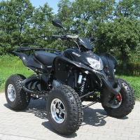 250cc Extra Large Size Four Wheel Atv With Electric Start System Black Manufactures