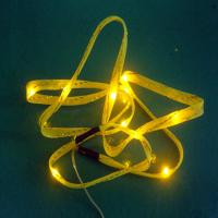 High quality Yellow decorative butterfly led lights Manufactures