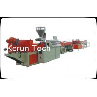 Conduit PVC Pipe Extrusion Machine Threading Plastic Extrusion Equipment Manufactures