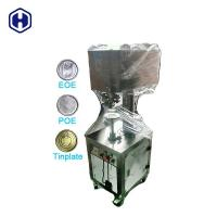 Small Scale Plastic Container Packaging Machine Electric Cans Sealer Manufactures