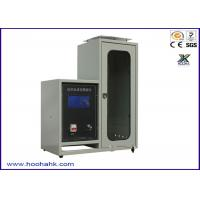 JIS-1091 Flammability Test Apparatus Textile Vertical 220V 50HZ 40mm Flame Height Manufactures