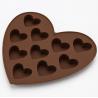 FDA  Heart Shaped Custom Made Chocolate Molds  -40~230°C Temperature Range for sale
