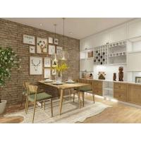 Quartz Stone Countertop Standard Kitchen Cabinets With Solid Wood Frame Manufactures