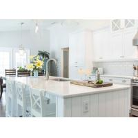 Kitchen Island Natural Quartz Countertops In Light Color Pre Cut Quartz Countertops Manufactures
