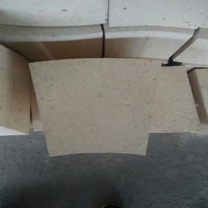 China Fan Shaped High Alumina Refractory Brick , Rotary Kiln High Temp Bricks on sale