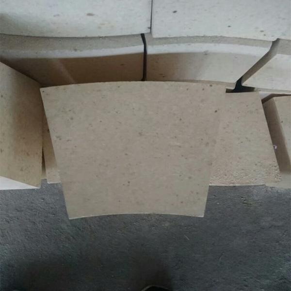 Quality Fan Shaped High Alumina Refractory Brick , Rotary Kiln High Temp Bricks for sale