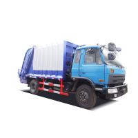 China Automatic Waste Disposal Truck / Recycle Garbage Truck 400L Fuel Tank Capacity on sale