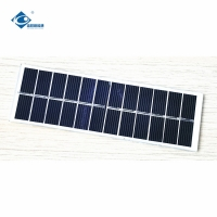 China Laminated 0.8W Thin Film 5.5V poly crystalline solar cells  ZW-13248 on sale