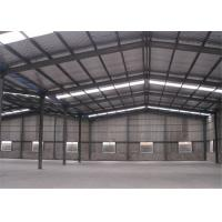 Professional Structural Steel Warehouse With Sandwich Panel Light Steel Frame Manufactures