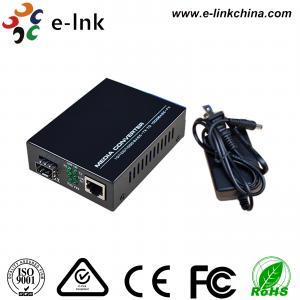 10 / 100M Fiber Ethernet Media Converter , Ethernet To SFP Fiber Media Converter Manufactures