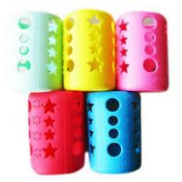 Eco Friendly Silicone Bottle Sleeve Glass Water Bottle Protective Unbreakable Manufactures