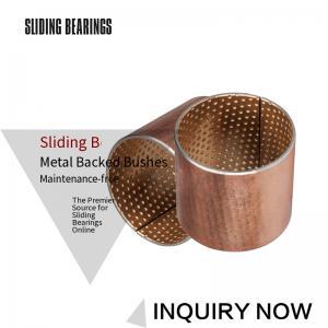 China JF800 Bimetal Bearings CuPb10Sn10 or CuSn6Zn6Pb3 on sale