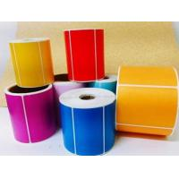 color printing customized adhesive stickers  labels Manufactures