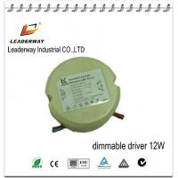 dimmable 12w driver with small size Manufactures