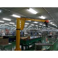 5ton Pillar Mounted Electric Jib Crane With Chain Hoist For Materials Handling Manufactures