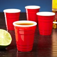 China disposable plastic cup for party games beer spirit alcohol beverage2oz--16oz on sale